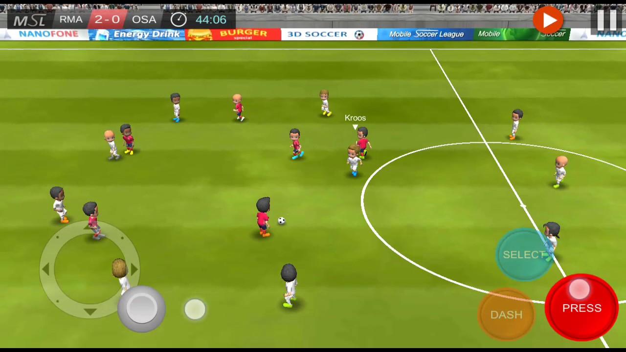 Mobile Soccer League Apk Mod 1 0 22 - Dinheiro Infinito