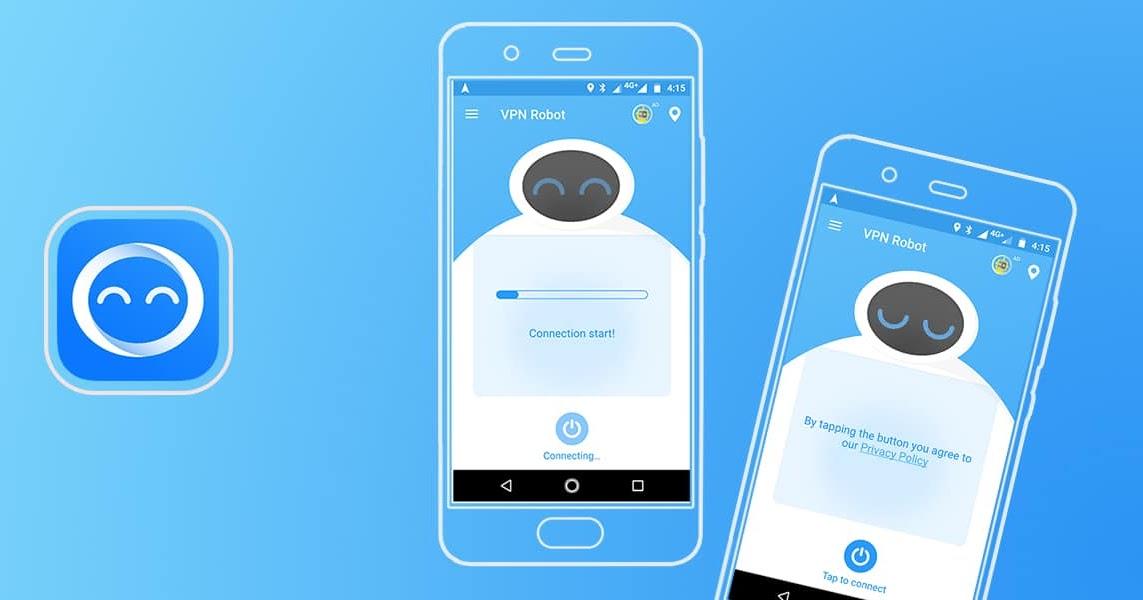 VPN Robot - Free Unlimited WiFi Security 1 9 2 - Apk Mod