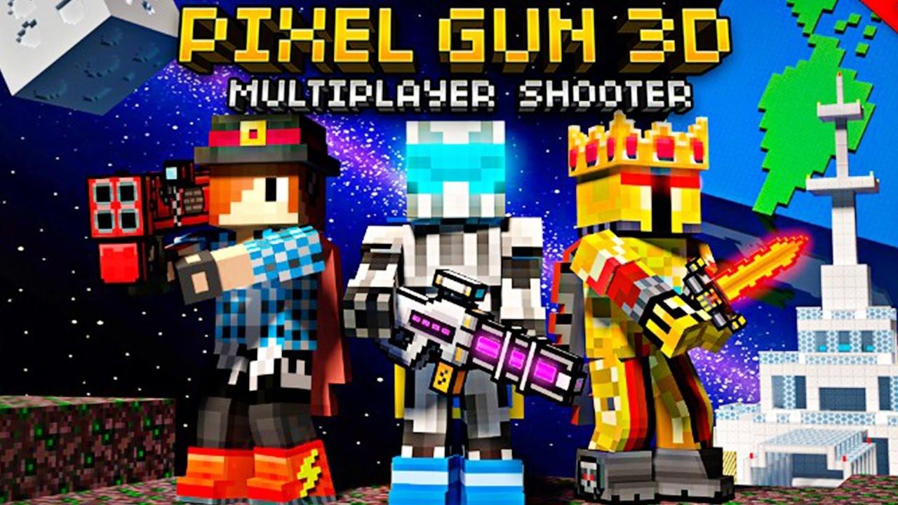 Pixel Gun 3D v21.6.0 Apk Mod MENU Munição Infinita - Apk Mod